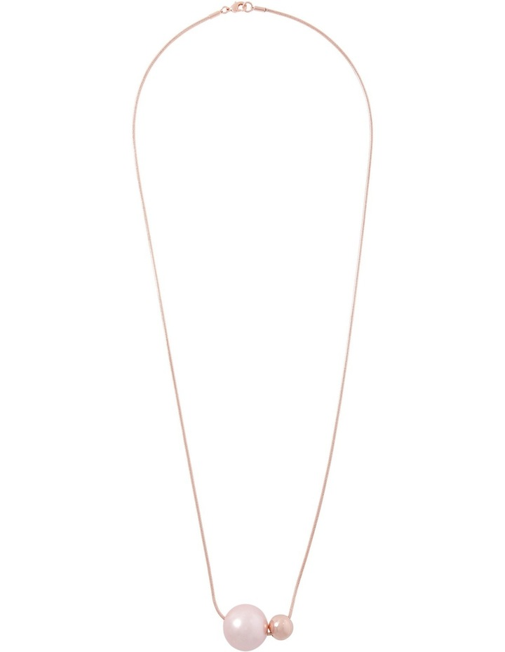 WCGES18NL75 Double Ball Necklace image 2