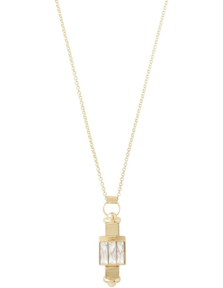 WCLOS18NL02 Long Pendant Crystal Necklace image 1
