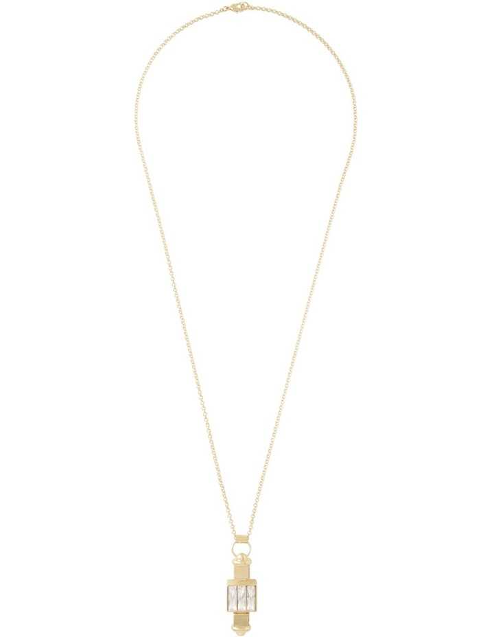 WCLOS18NL02 Long Pendant Crystal Necklace image 2