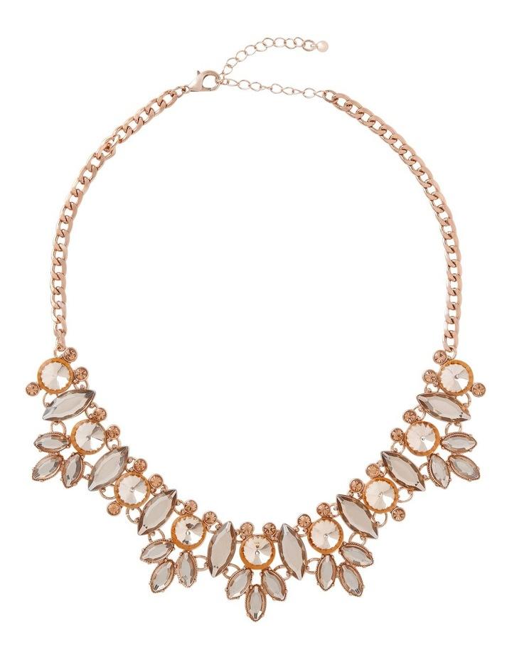 WCJHW18NL169 Statement Floral Necklace image 2