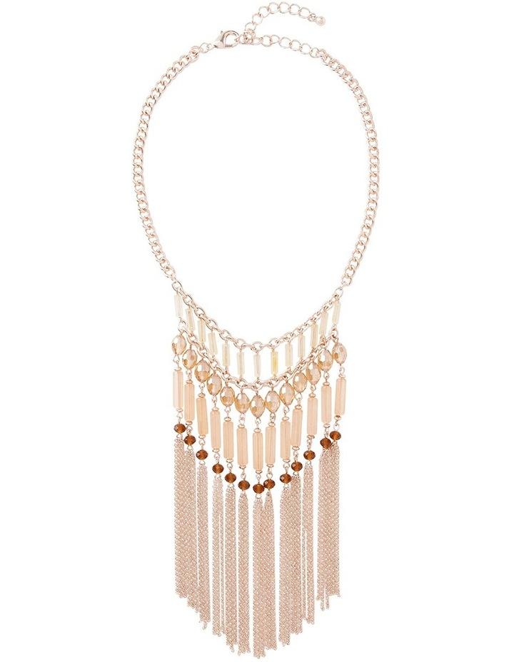 Romance Beaded Drape Necklace image 1
