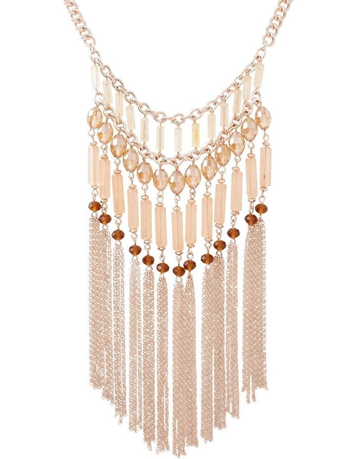 Romance Beaded Drape Necklace image 2