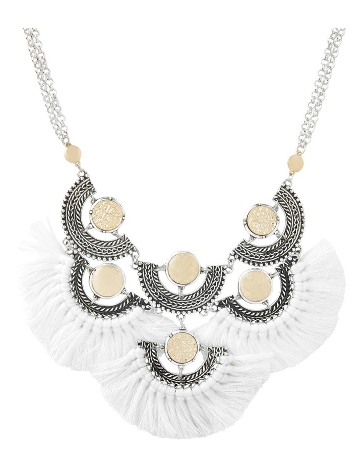 Eclectic Coin Statement Necklace image 1
