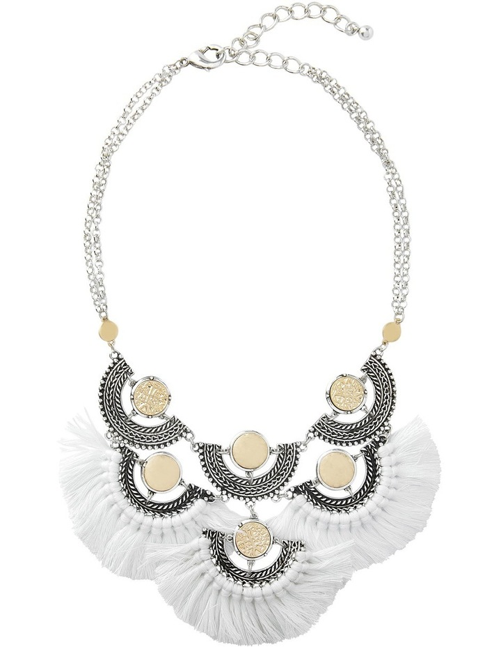Eclectic Coin Statement Necklace image 2