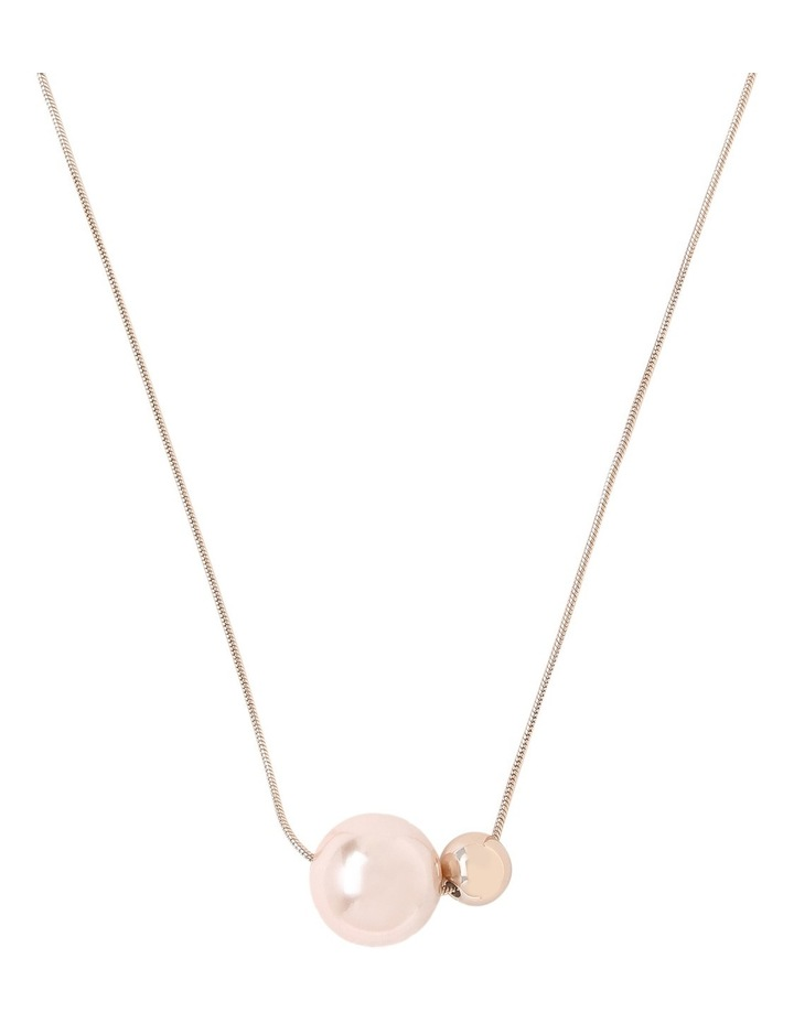 Blush Pearl Look and Ball Necklace image 1