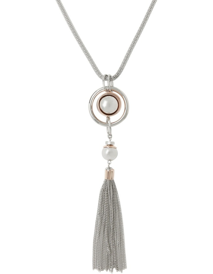 Tassel and Ball Necklace image 1