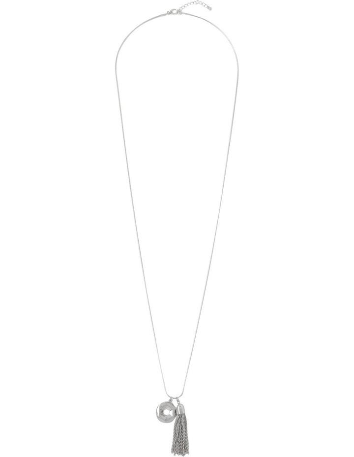 Organic Large Pendant Necklace PIPJE014 image 2