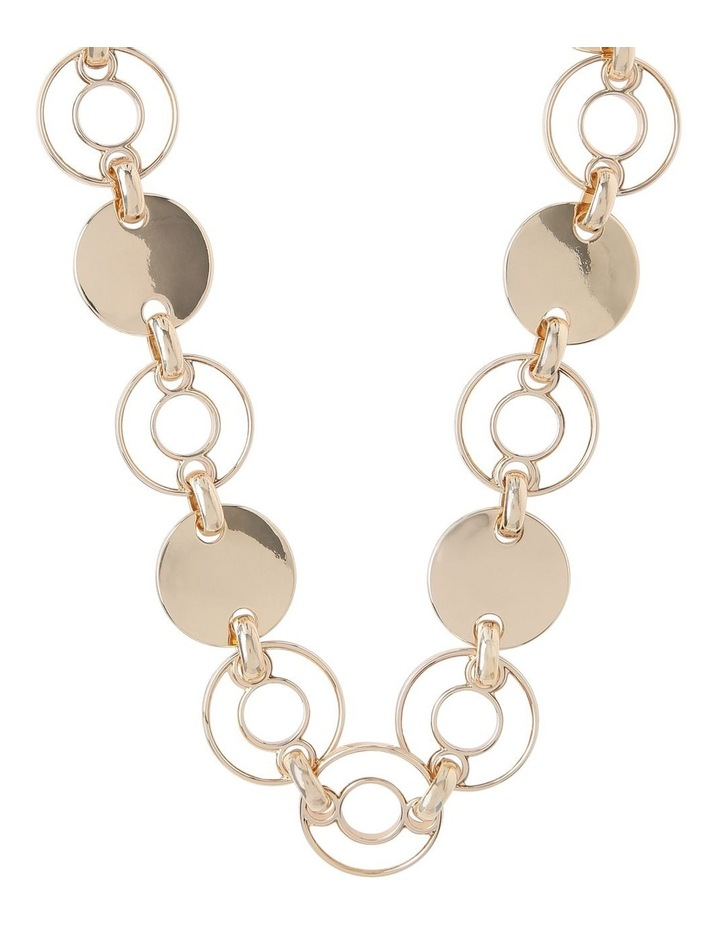 Multi Disc Pearlised Short Necklace image 1