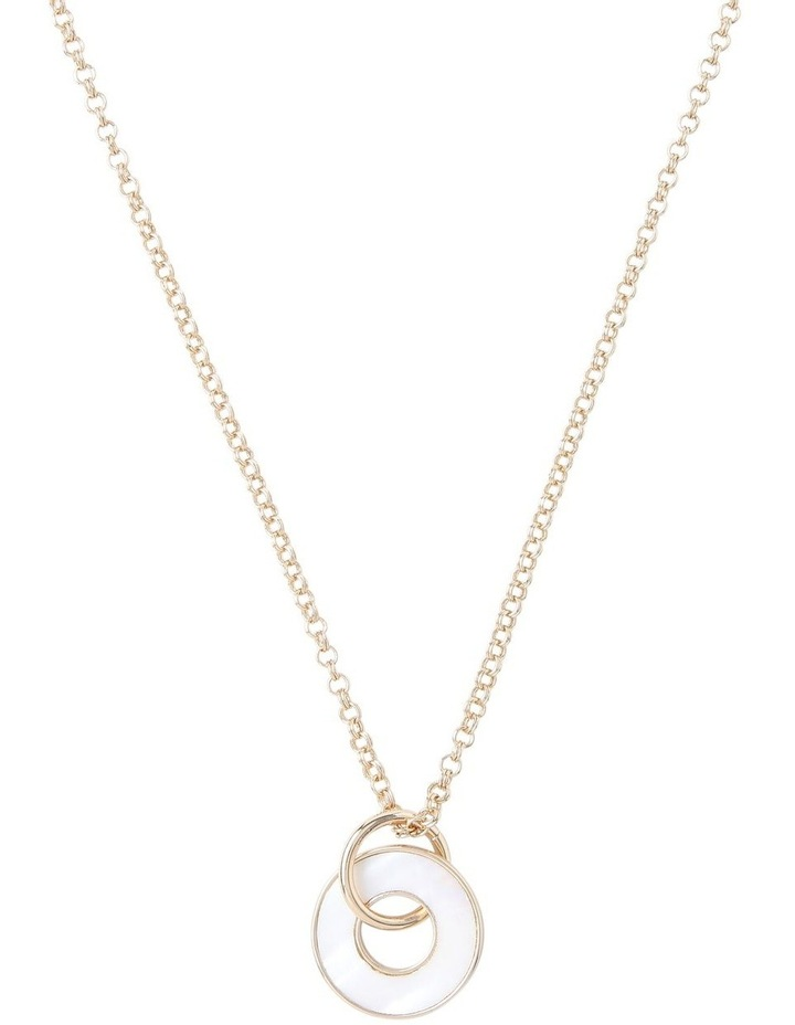 Pearlised Pendant Necklace image 1