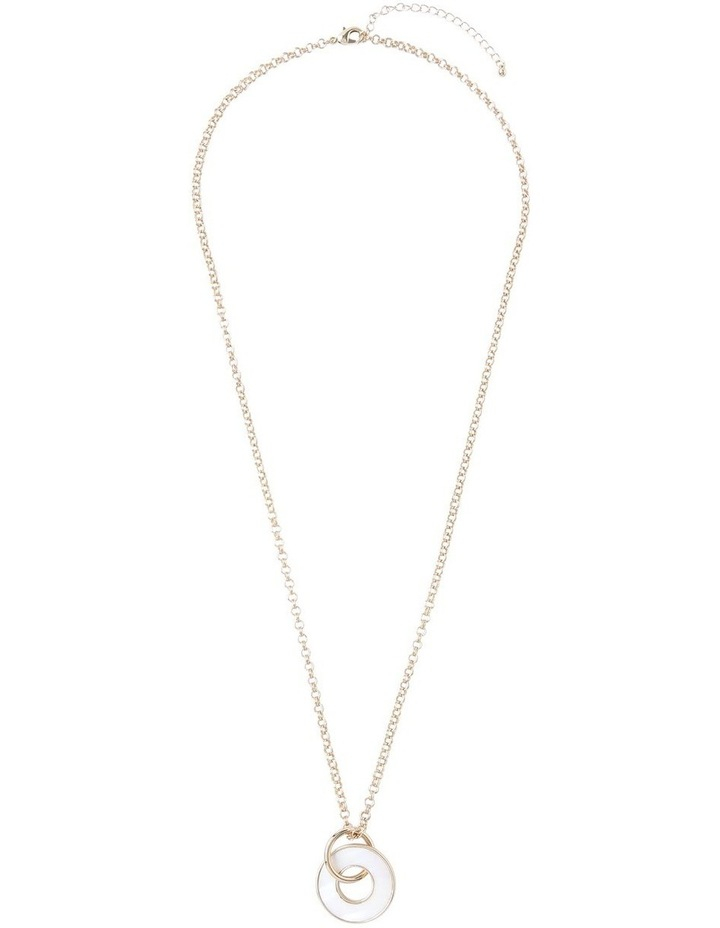 Pearlised Pendant Necklace image 2