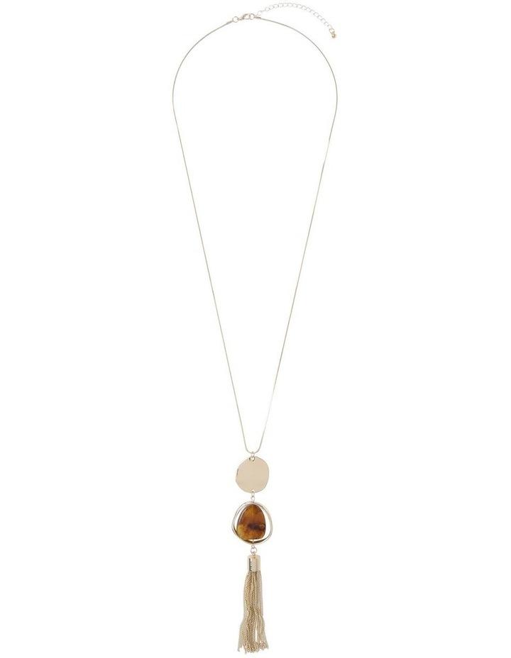 Tassel Trim Pendant Necklace image 2