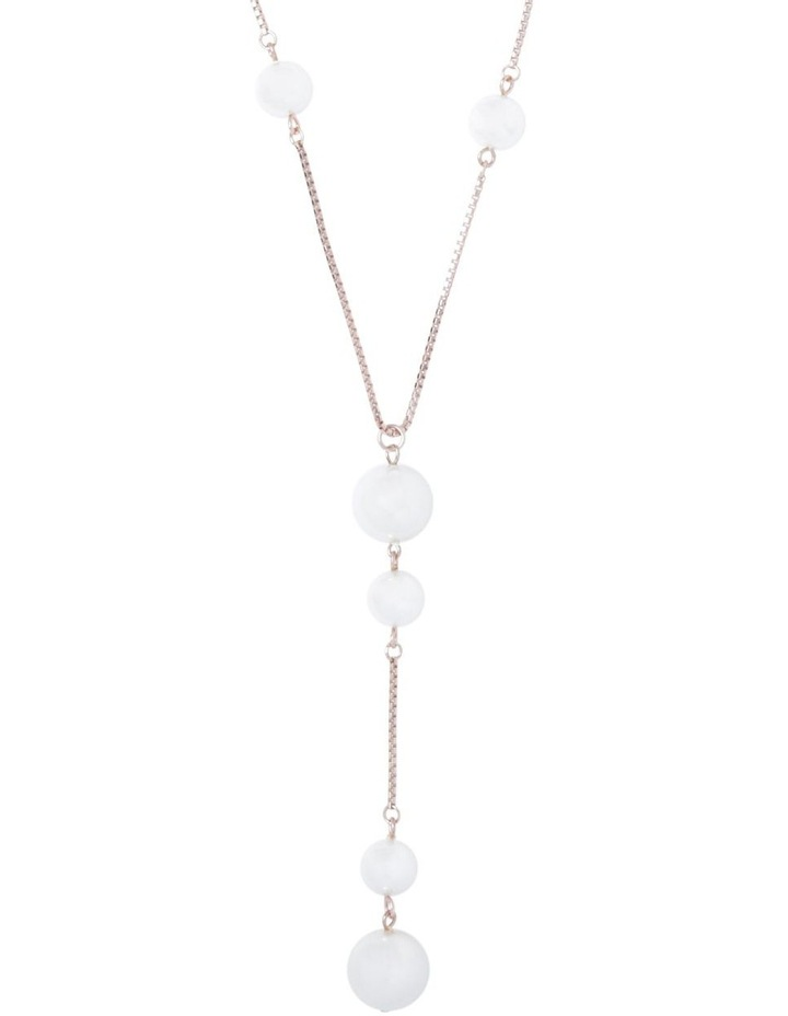 Pearl Drop Long Necklace image 1