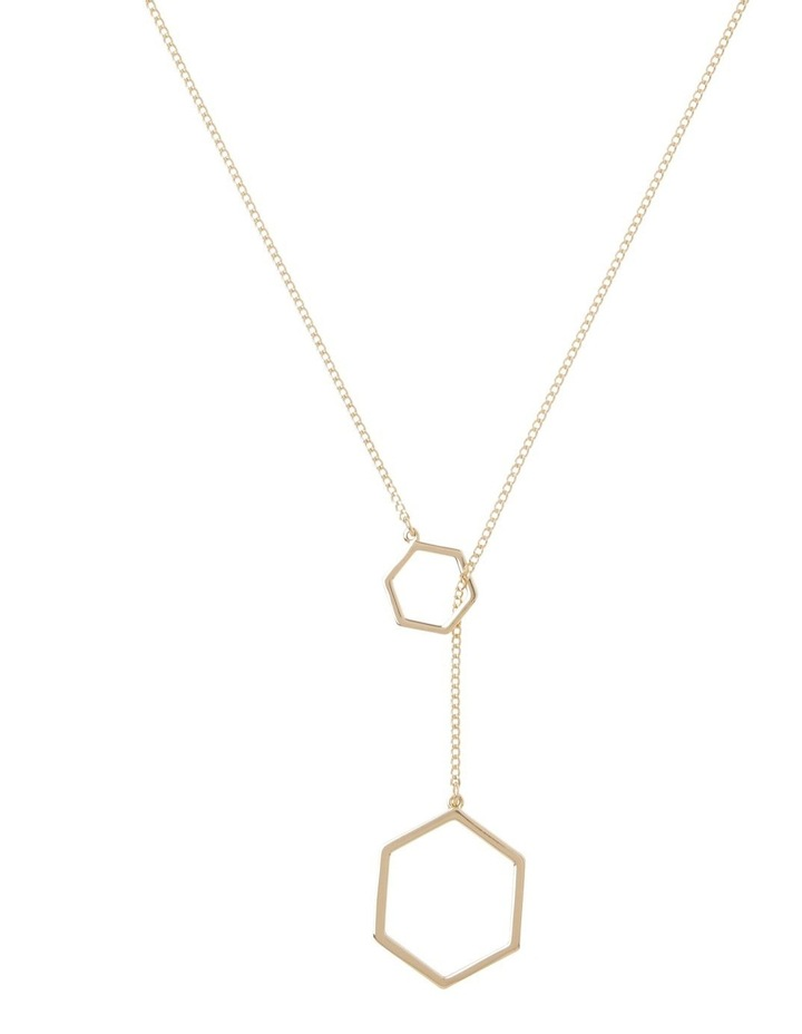 Heaxogonal  Necklace image 1