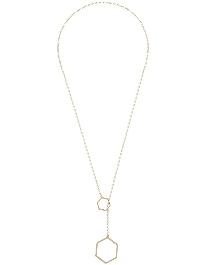 Heaxogonal  Necklace image 2