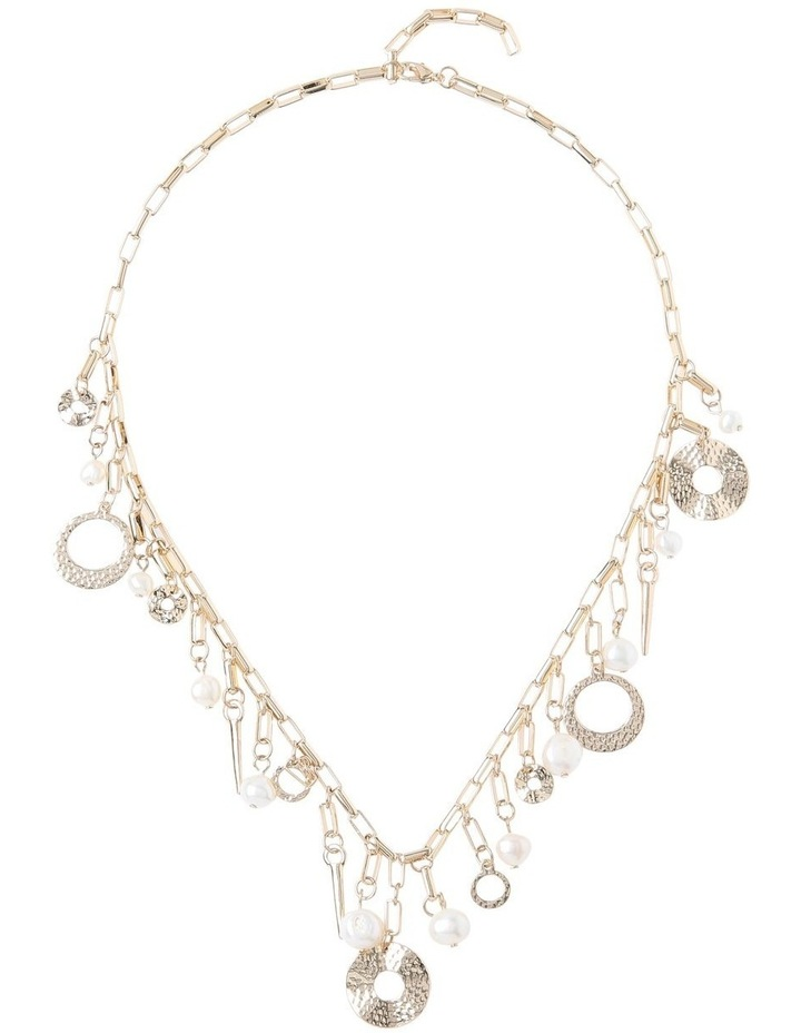 Molten Pearl Charm Necklace image 2