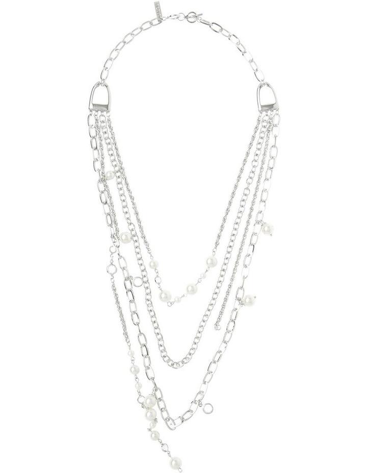 Layered Charm Short Necklace image 2