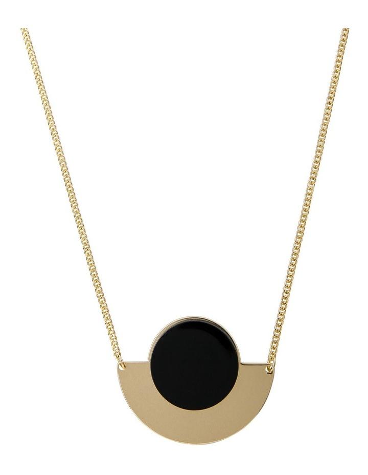 Half-Moon Short Necklace image 1