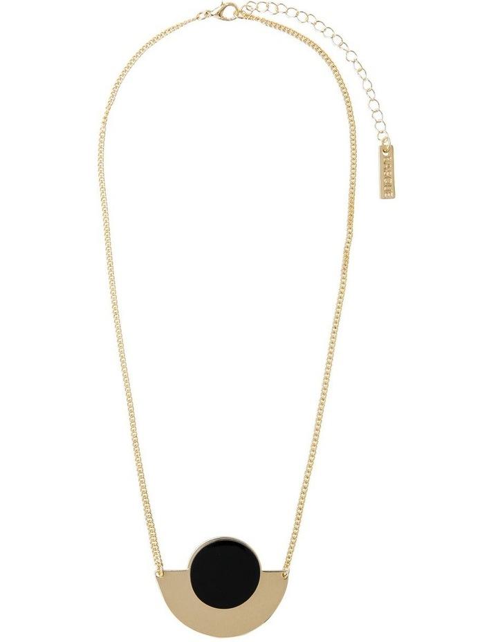 Half-Moon Short Necklace image 2