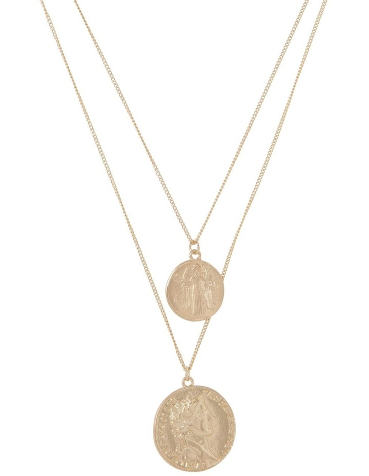 Layered Coin Necklace image 1