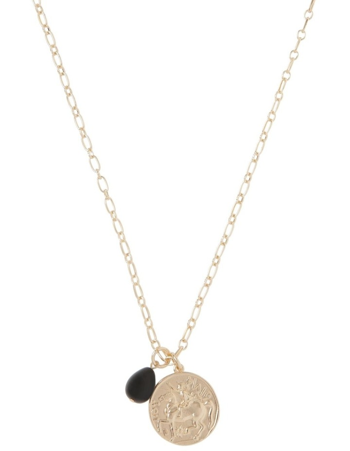 Coin Pendant Necklace image 1