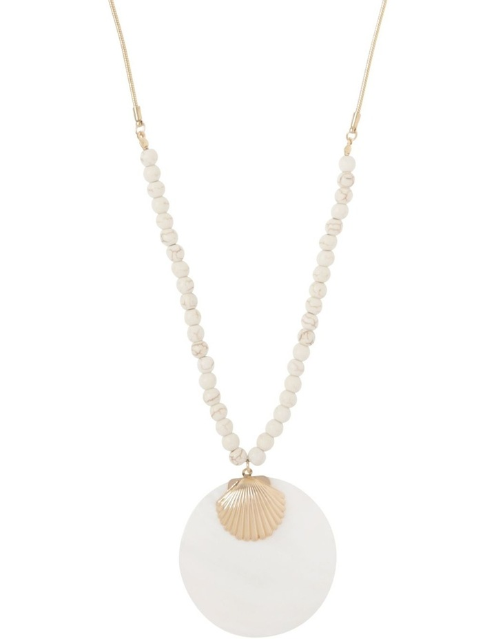 Shell Pendant Necklace image 1