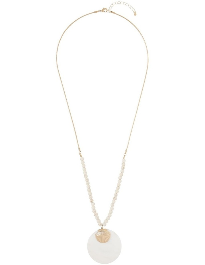 Shell Pendant Necklace image 2