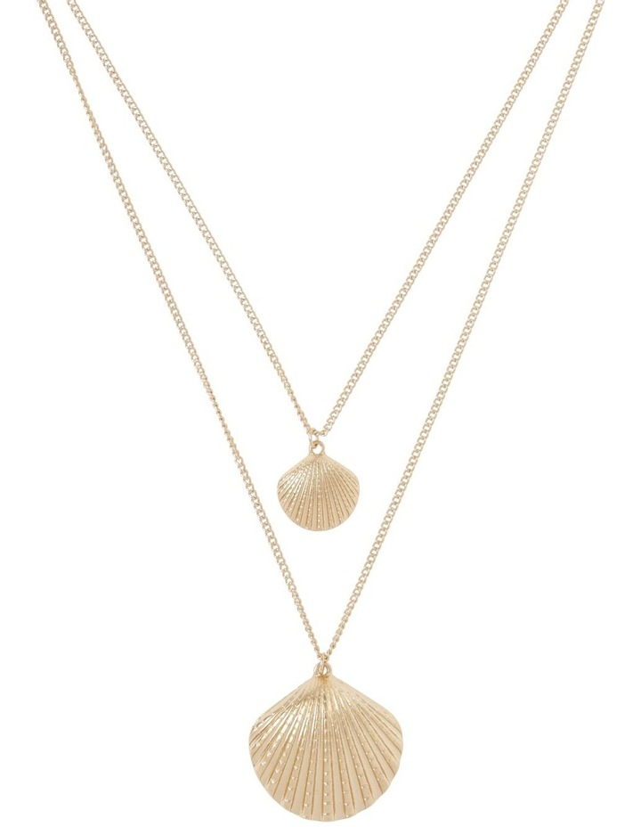 Double Shell Necklace image 1