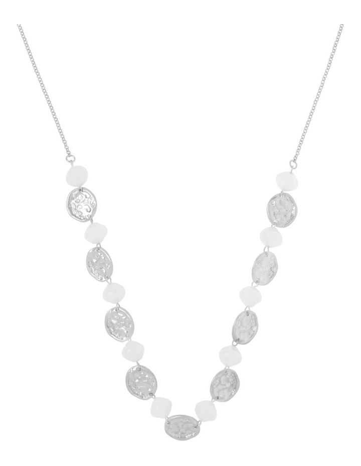 Pearl Disc Necklace image 1