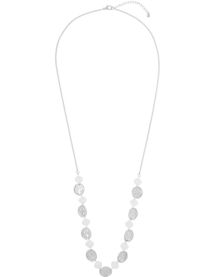 Pearl Disc Necklace image 2