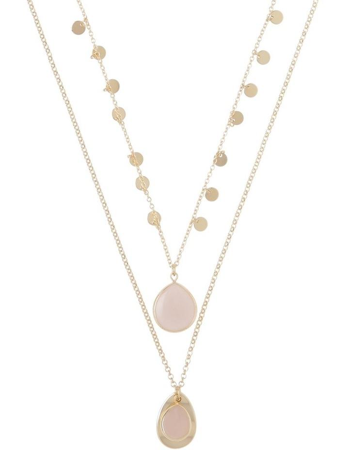 Layered Stone Necklace image 1