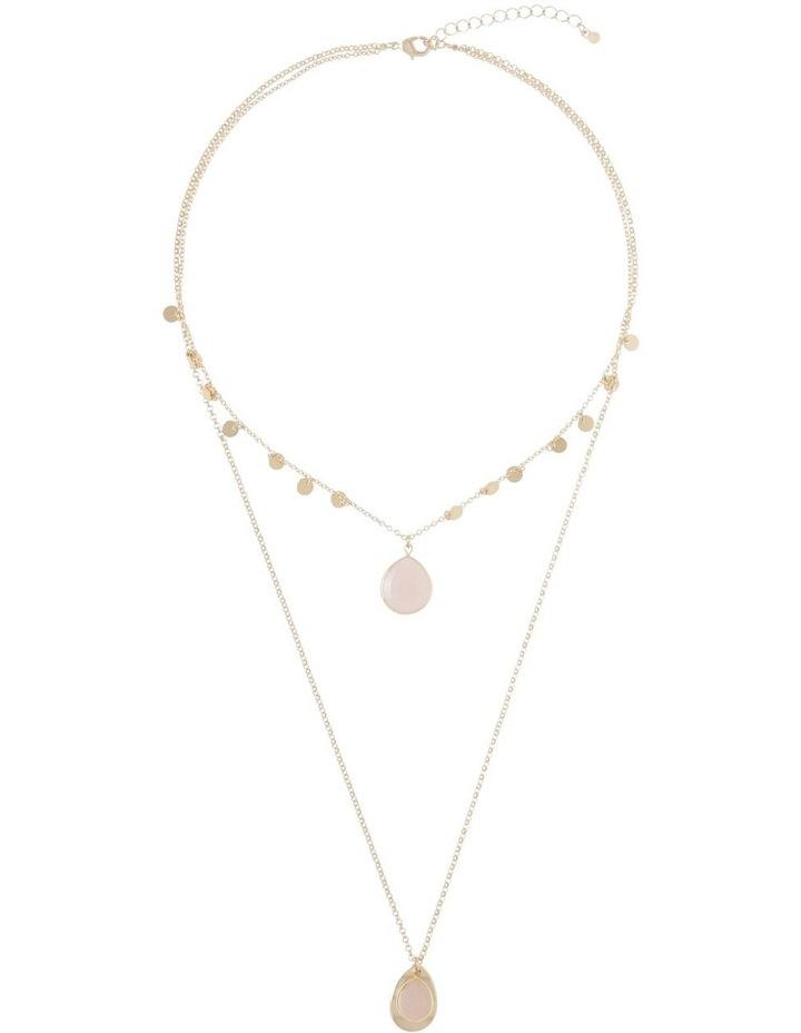 Layered Stone Necklace image 2