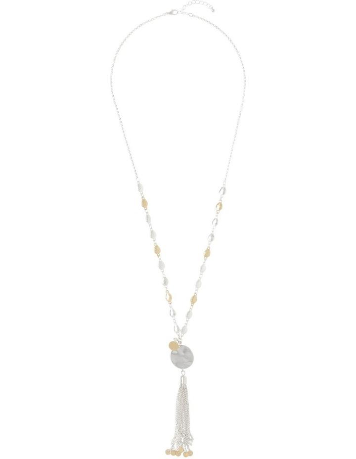 Disc Tassel Necklace image 2