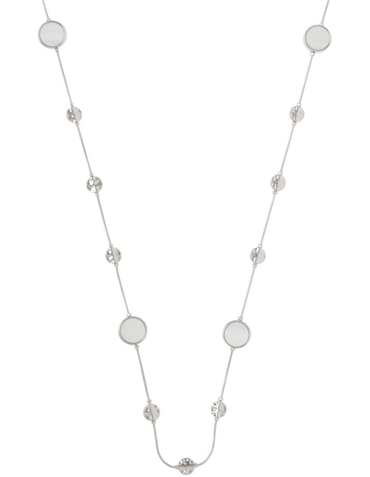 Mother Of Pearl Station Necklace image 1