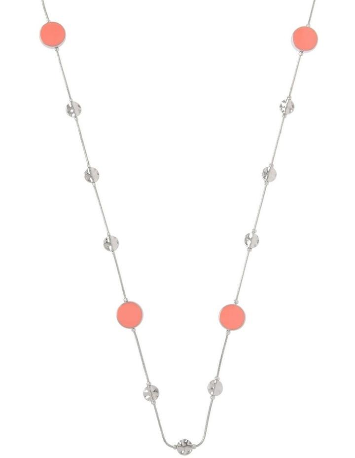 Enamel Station Necklace image 1