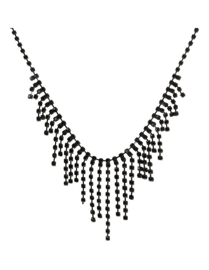 Pave Fringe Necklace image 1