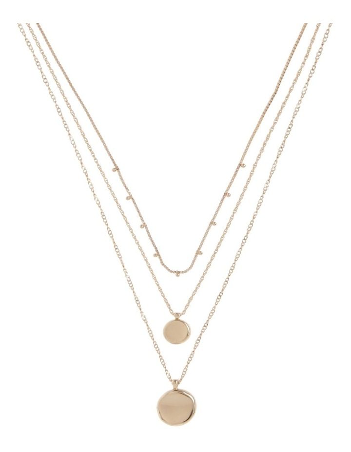 Gold Triple Circle Necklace Pack image 1