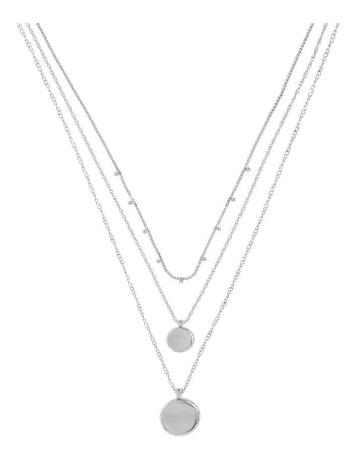 Silver Triple Circle Necklace Pack image 1