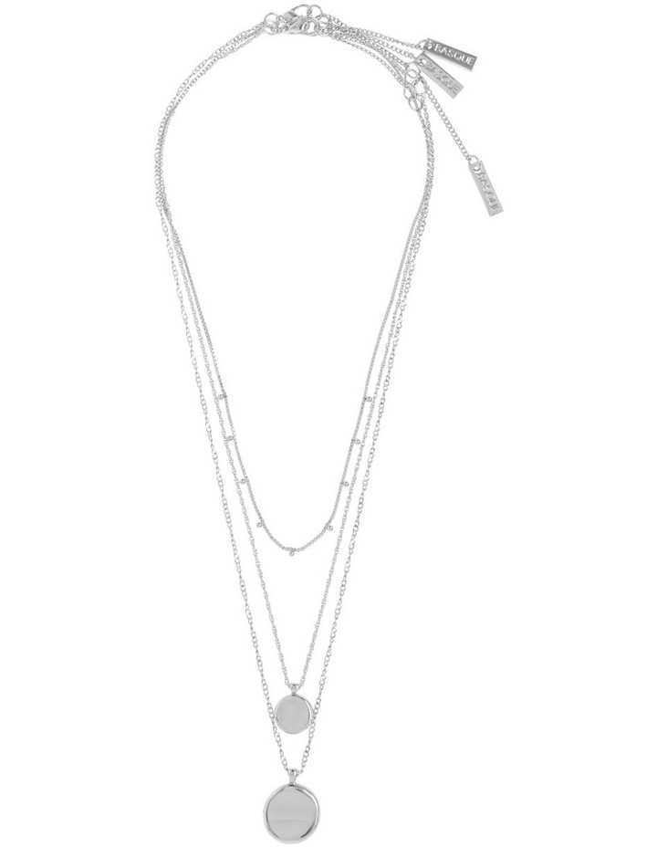 Silver Triple Circle Necklace Pack image 2