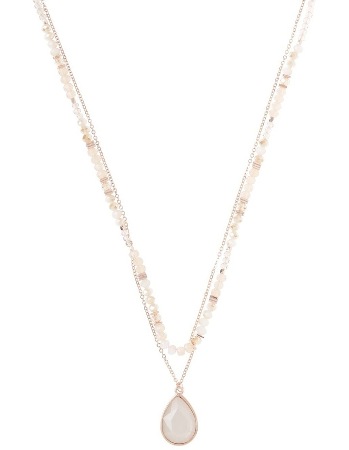 Tinted Layered Necklace image 1