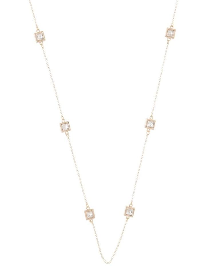 Crystal Station Necklace image 1