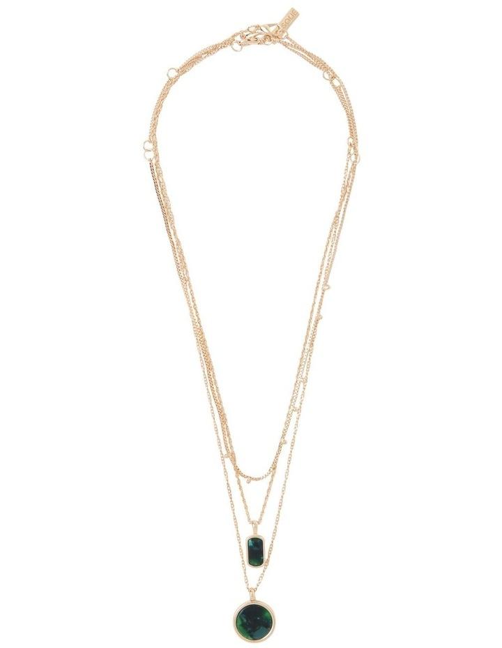 Circle Pendant Necklace image 1