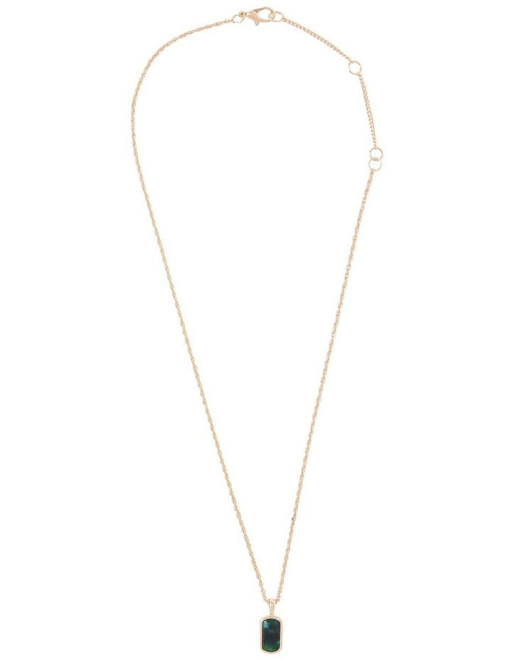 Circle Pendant Necklace image 2