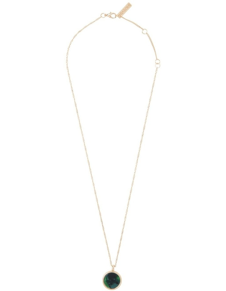 Circle Pendant Necklace image 4
