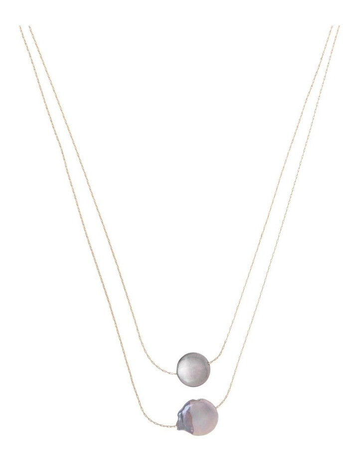 Double Layer Fine Necklace image 1