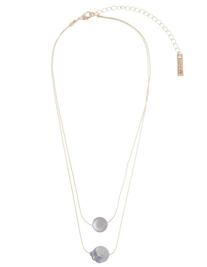 Double Layer Fine Necklace image 2