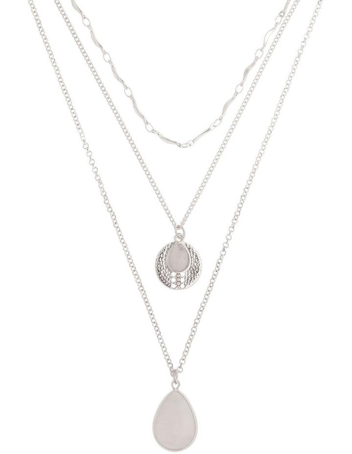 Semi Precious Layered Necklace image 1
