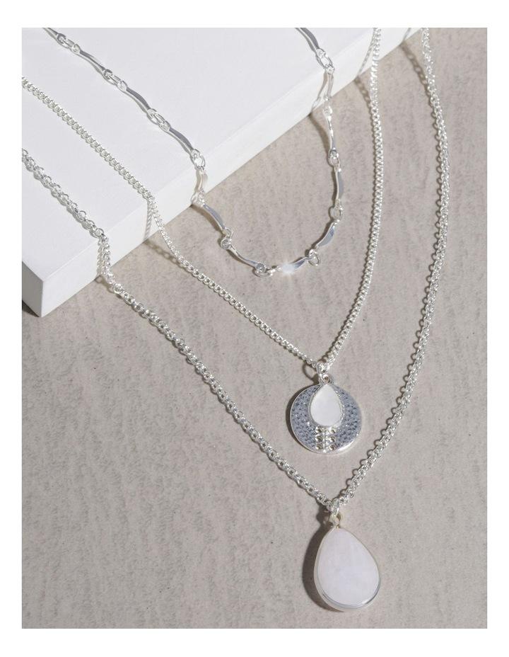 Semi Precious Layered Necklace image 3