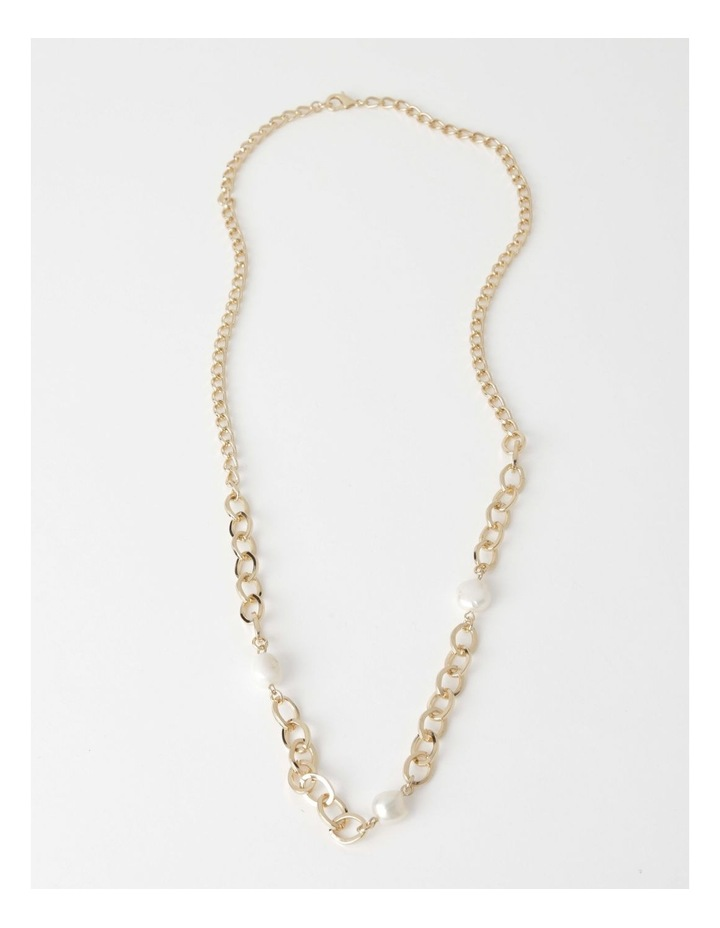 Long Freshwater Pearl Chain Necklace image 2