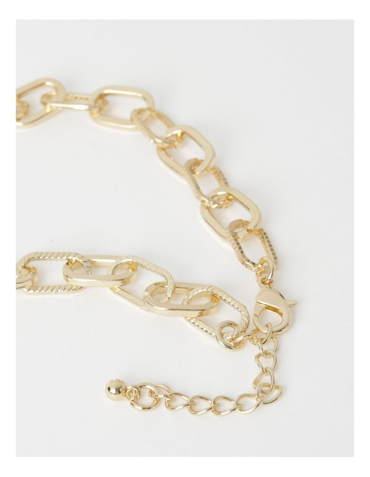 Elevated Chain Link Necklace image 3