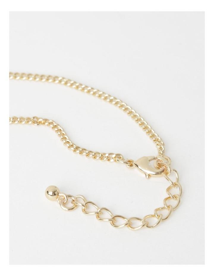 Double Circle Pendant Necklace image 2